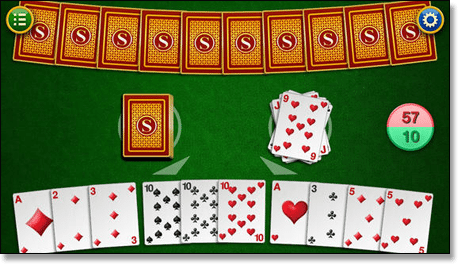 Gin Rummy Rules How To Play Set Run Knock Gin Terminology