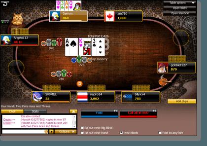 Omaha 888 Poker