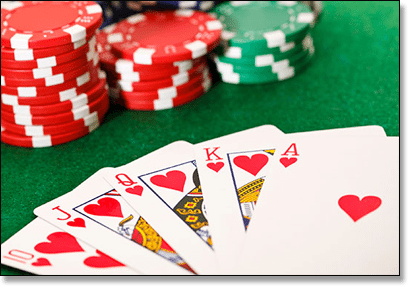 Types of poker games with cards breeding roulette