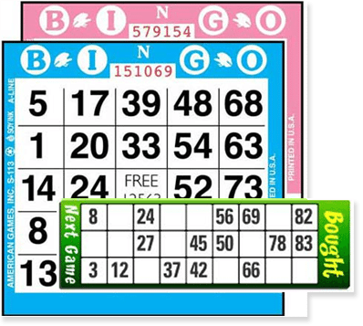 90 and 75 Ball Bingo Cards