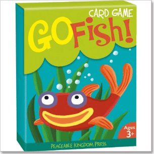 You can even buy official Go Fish cards even though a standard deck is fine.