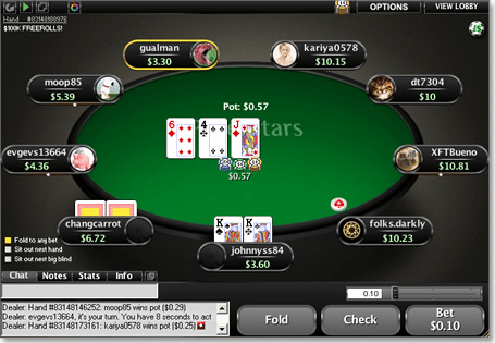 Play at Pokerstars