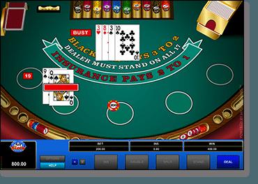 Classic Blackjack online
