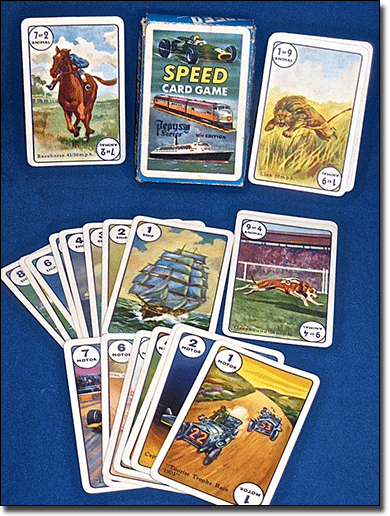 Play Speed card game online