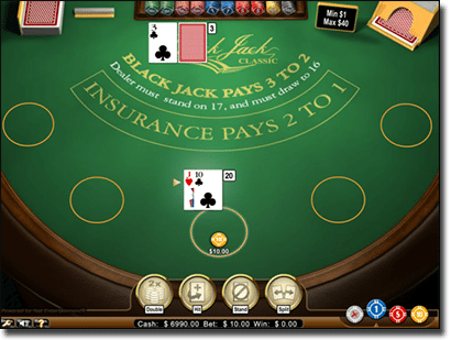 G'Day Casino online blackjack card games