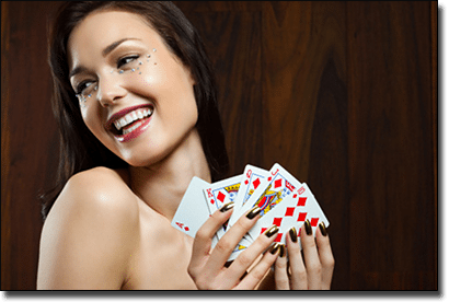 7 types of poker players - The Hot Chick