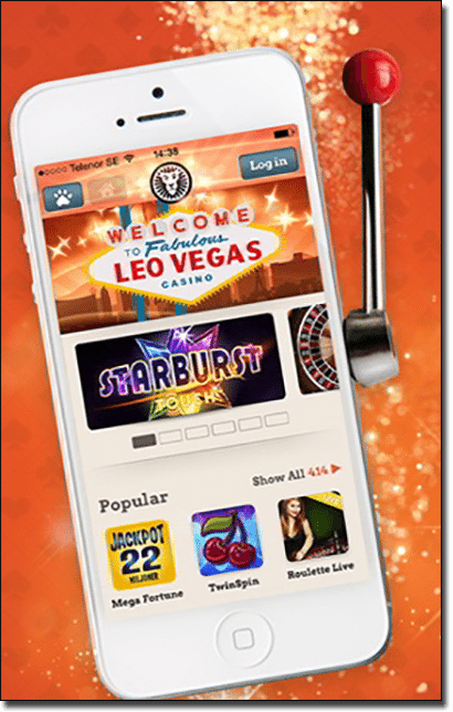 Leo Vegas mobile casino - Top mobile card games