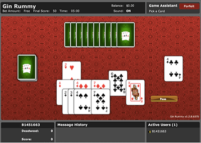 Gin Rummy online for real money