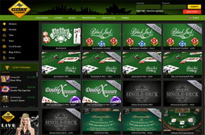 G'Day Casino card games online