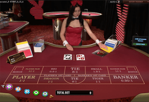 Live Playboy Bunny Baccarat no download