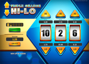 Triple Chance Hi Lo online