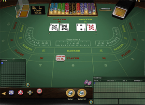High-stakes baccarat games at All Slots Casino