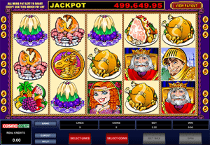 King Cashalot online progressive by Microgaming
