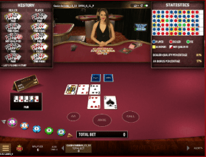 Live Casino Hold'Em by Microgaming software