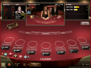 Live dealer blackjack by Microgaming software