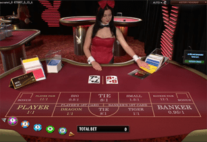 Live Playboy Bunny Baccarat Microgaming software